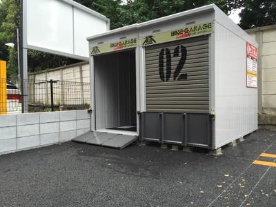 CRバイクパーク文京区本駒込外観